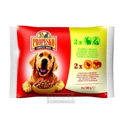 PROPESKO KAPSA DOG 4-pack 100g-9178