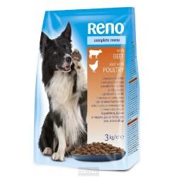 RENO Dog hovězí , granule 3 kg