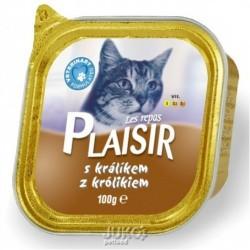 Plaisir Cat vanička 100g králičí -13677