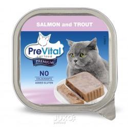 PreVital Premium vanička s lososem a pstruhem 100g-13797