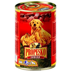 PROPESKO Dog Junior drůbeží, kousky 415 g