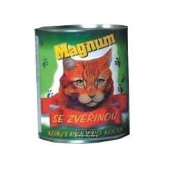 Magnum kočka zvěřina 855 g