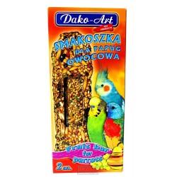 Tyčinka s ovocem andulka Dako (2 ks)