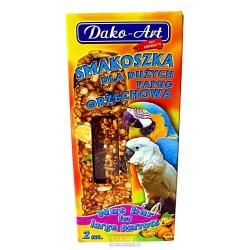 Tyčinka s ořechem velký papoušek Dako (2 ks)