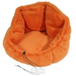 Stahovací pelíšek Adriana 40 cm oranžový