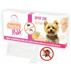 Max Herba-SPOT ON MINI dog 1x1ml do 15kg- Fine dog-10684