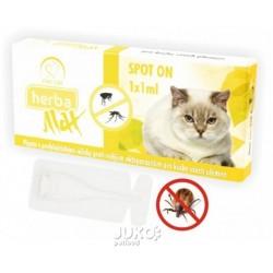 Max Herba Spot-on Cat antiparazatiní kapsle, kočka 1 x 1 ml