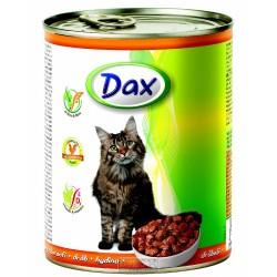 DAX kousky CAT 830g DRŮBEŽÍ-10705