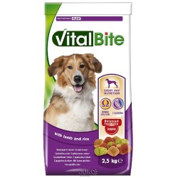 Vitalbite pes jehněčí & rýže, granule 2,5 kg