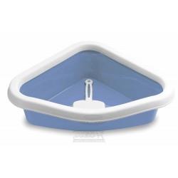 WC ROHOVÉ-modré-BEZ LOPATKY 40x56x14h-96606