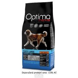 OPTIMAnova Dog Puppy Large Chicken & Rice 12 kg
