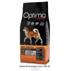 OPTIMAnova Dog Adult Sensitive Salmon & Potato GF 800 g