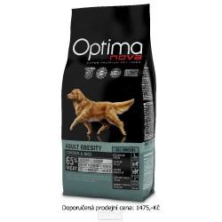 OPTIMAnova Dog Obesity Chicken & Rice 12 kg