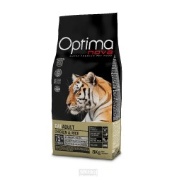 OPTIMAnova CAT ADULT Chicken&Rice 8kg-11234
