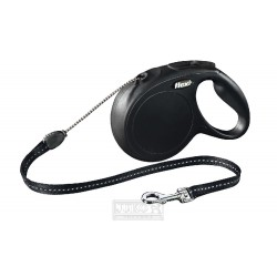 Flexi New Classic Cord M 5m černá