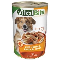 VitalBite kousky pes 1240g kuře+těstoviny+mrkev-11509
