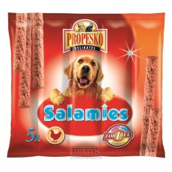 Propesko-pamlsek-salamies pes KUŘE-5KS-55g-11512