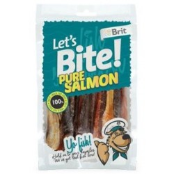 Brit pochoutka Let's Bite Pure Salmon 80g Novinka