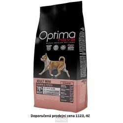 OPTIMAnova Dog Adult Mini Sensitive Salmon & Potato GF 8 kg