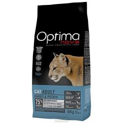 OPTIMAnova Cat Rabbit & Potato GF 400 g