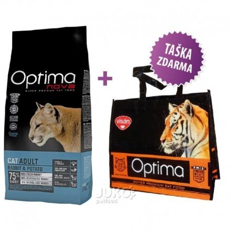 OPTIMAnova Cat Rabbit & Potato GF 2 kg
