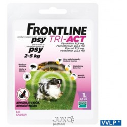 a.Frontline Tri-Act Spot-on DOG-XS-2-5kg-11813-OBJ