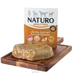Naturo Dog Adult Chicken & Lamb & Rice with Vegetables 400 g