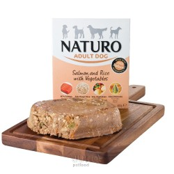 Naturo Adult Salmon&Rice with Veget. 400g-11918
