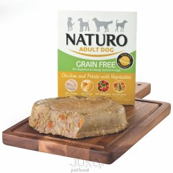 Naturo Grain Free Chicken&Potato with Veget 400g-11921- Expirace 11/2018