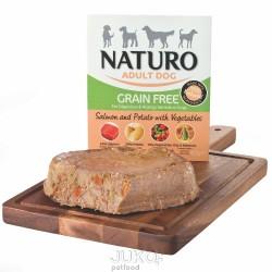 Naturo Dog Salmon & Potato with Vegetable GF, vanička 400 g