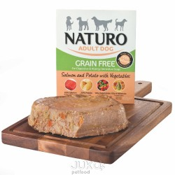 Naturo Grain Free Salmon&Potato with Veget 400g-11922