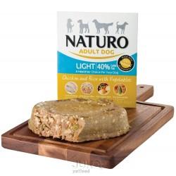 Naturo Dog Light Chicken & Rice with Vegetables, vanička 400 g