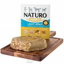 Naturo Light Chicken&Rice with Veget. 400g-11923