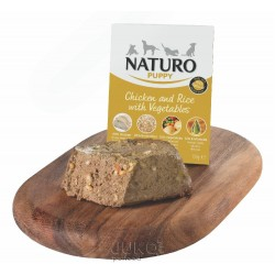 Naturo Puppy Chicken&Rice with Veget 150g-11924