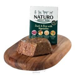 Naturo Dog Adult Mini Duck & Rice with Vegetables, vanička 150 g