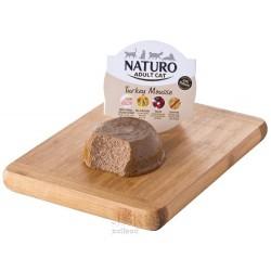 Naturo Cat Turkey Mousse GF, vanička 85 g