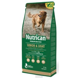 NUTRICAN dog SENIOR & LIGHT 15kg-1198 +2KG navic