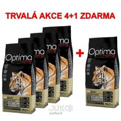 OPTIMAnova CAT ADULT Ch&Rice 8kg-4+1ks ZDARMA-12034