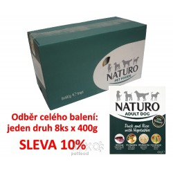 Naturo Adult Duck&Rice+Vegetables 400g-8KS-AKCE 10%-12038