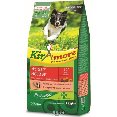 Kiramore Dog medium Adult Active 15kg-12336