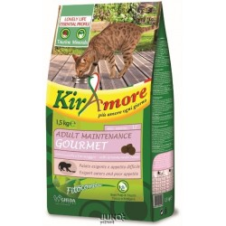 Kiramore Cat Adult Maintenance Gourmet 15kg-12351