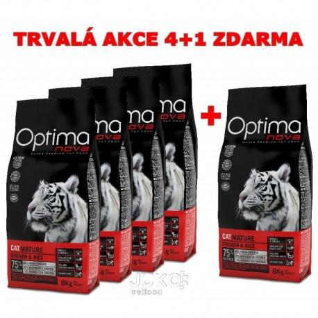 OPTIMAnova CAT MATURE urinary 8kg-4+1ks ZDARMA-12362