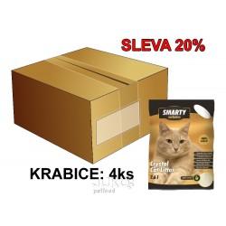 SMARTY exclusive silikátové stelivo 7,6 l AKCE 15 %