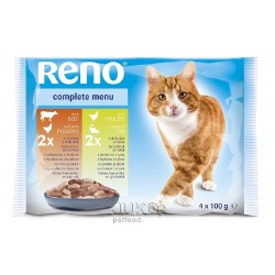 RENO kapsa CAT 4-pack 100g-10835