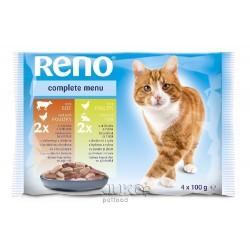 RENO kapsa CAT 4-pack 100g-10835