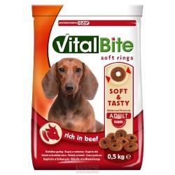 VitalBite SOFT RINGS hovězí 500g-11398