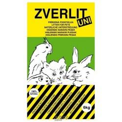 ZVERLIT UNI zelený-univerzální podestýlka 6kg-12609