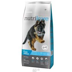 Nutrilove pes granule JUNIOR Large fresh kuřecí 12kg-13195
