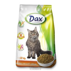 DAX granule CAT 10kg DRŮBEŽ+ZELENINA-10780