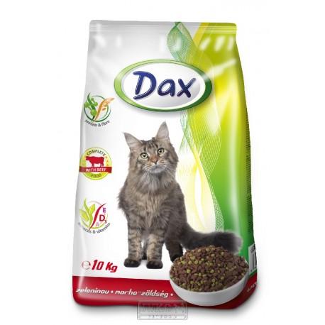 DAX granule CAT 10kg HOVĚZÍ+ZELENINA-10781